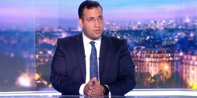 """La stratégie d'Alexandre Benalla au JT de TF1 pour démentir l'image de """"petite frappe""""."""