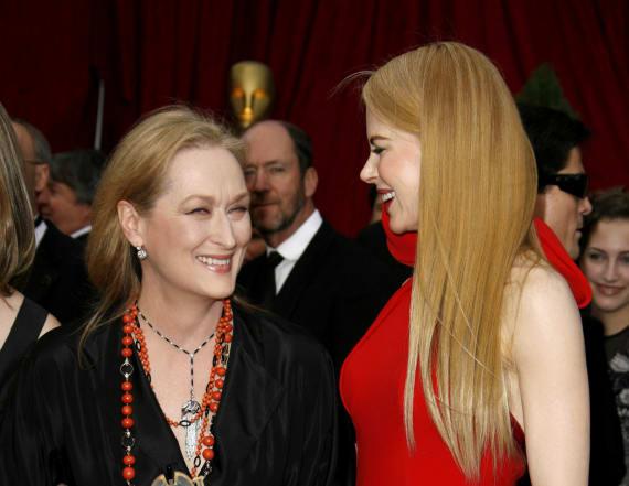 Nicole Kidman on working with 'amazing' Meryl Streep