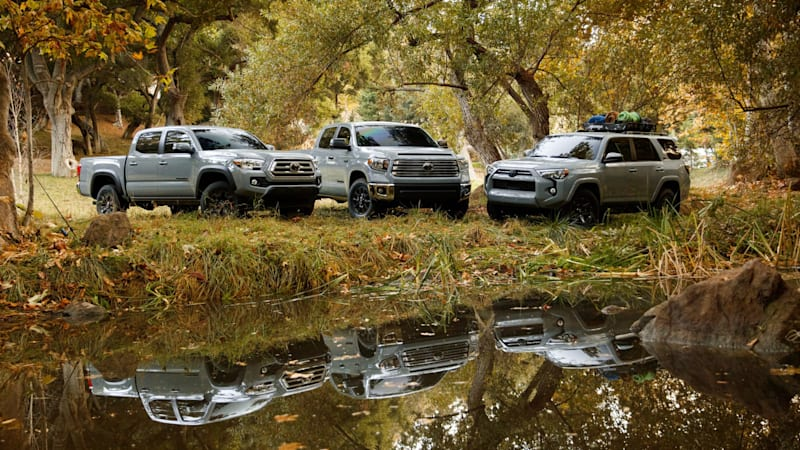 Toyota Trail Edition Tacoma, Tundra, 4Runner add off-road gear