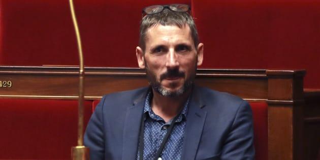 Matthieu Orphelin à l'Assemblée nationale en juillet 2017.
