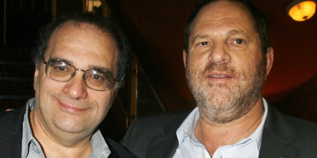 Los hermanos Bob y Harvey Weinstein, fundadores de The Weinstein Co., en un estreno en junio de 2007.