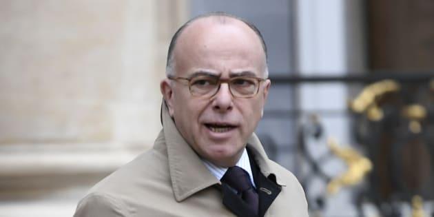 Bernard Cazeneuve à Paris le 8 mars 2017.
