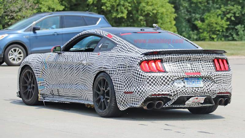 2019 Ford Mustang Shelby Gt500 Sprouts A Spoiler Roll Cage