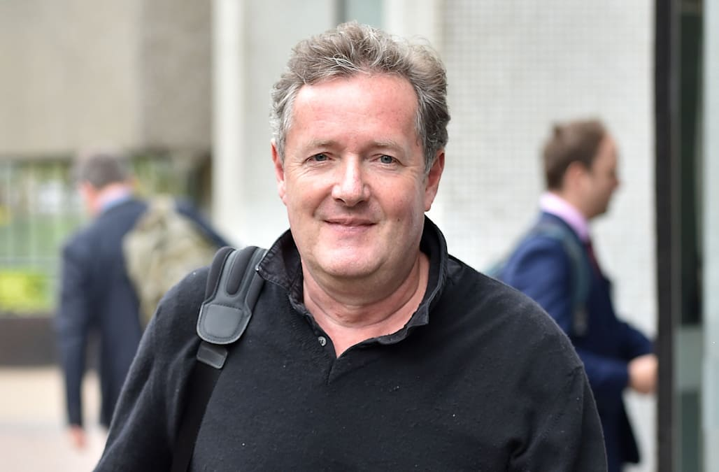 Piers Morgan Applies for Trump Chief of Staff Position in ...
