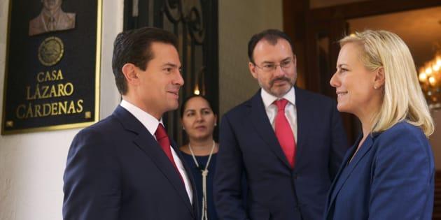 Peña Nieto recibió a Nielsen