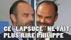 Philippe a (encore) commis ce lapsus gênant mais ça ne le fait plus