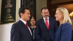 Peña Nieto se reúne con Kirstjen Nielsen, secretaria de seguridad nacional de Estados