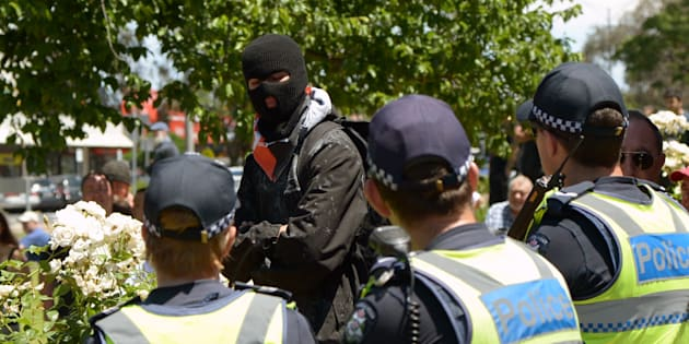 An anti-Islam rally is taking place in Melbourne's outer west suburbs.