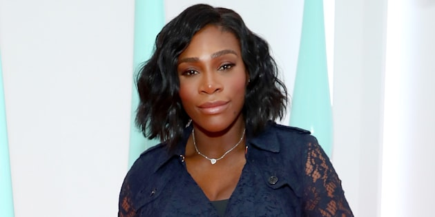 Serena Williams attends the launch of the Burberry DK88 Bag on May 2, 2017 in New York City.