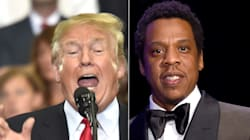 Trump Attacks 'Filthy' Jay-Z, Is Quickly Called Out Over His Own Potty
