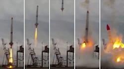 Rocket Explodes Seconds After Lift-Off In