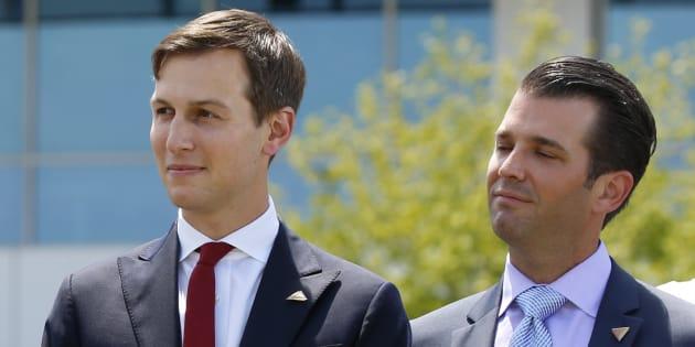 Le fils et le gendre de Trump vont devoir s'expliquer devant le Sénat sur le dossier russe