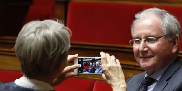 Jean-Michel Clément à l'Assemblée nationale en février 2017.