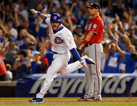 Cubs break Nationals' hearts with historic walk-off