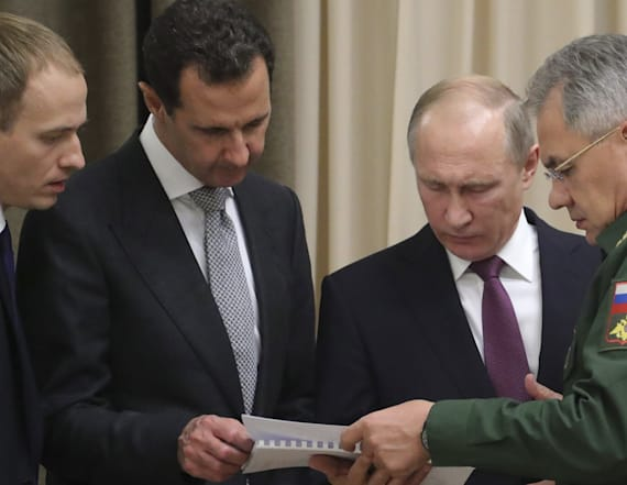 Russia's Putin secretly hosts Syria's Assad