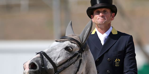 Bronze for the rider, a carrot for the horse.