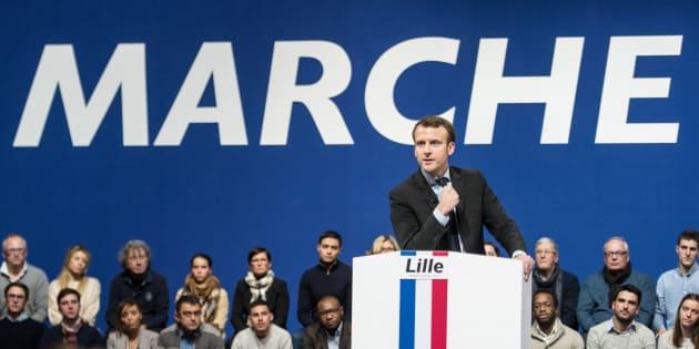 La République en marche, parti fondé par Emmanuel Macron, est visée par une enquête préliminaire pour des dons perçus en 2017.