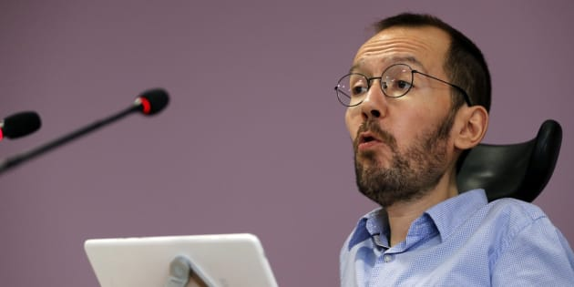 Imagen de archivo de Pablo Echenique, secretario general de Podemos Aragón.