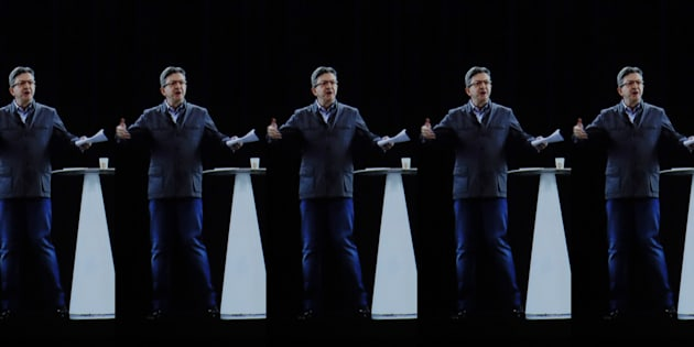Vous avez aimé l'hologramme de Mélenchon en meeting? Vous n'avez encore rien vu