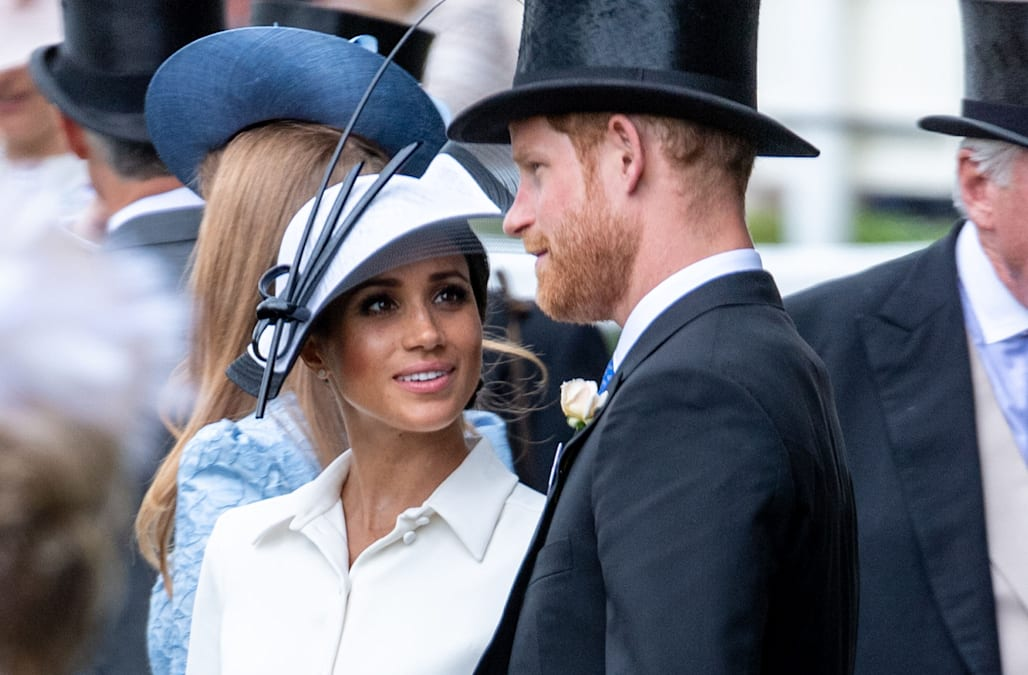 f58228c17bfa Meghan Markle and Prince Harry celebrate first month of marriage by  attending the Royal Ascot  Pics
