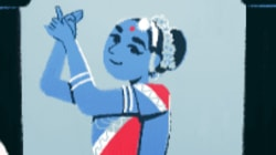 This Indian Dancer Appears With 12 Other Women In Google's Doodle For International Women's