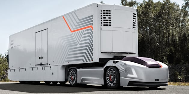 pour son camion autonome volvo ne veut pas juste supprimer le volant le huffington post. Black Bedroom Furniture Sets. Home Design Ideas