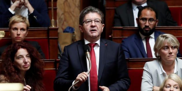 Jean-Luc Mélenchon propose de retirer le drapeau européen de l'Assemblée nationale.