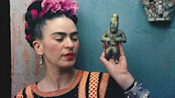 Frida Kahlo Making Her Self Up At The V&A: The Style (And Life) Lessons I