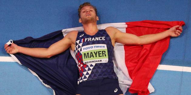 Kévin Mayer sacré champion du monde de l'heptathlon en salle