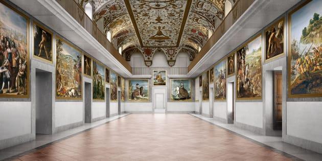 Museo del Prado, Salon de reinos.
