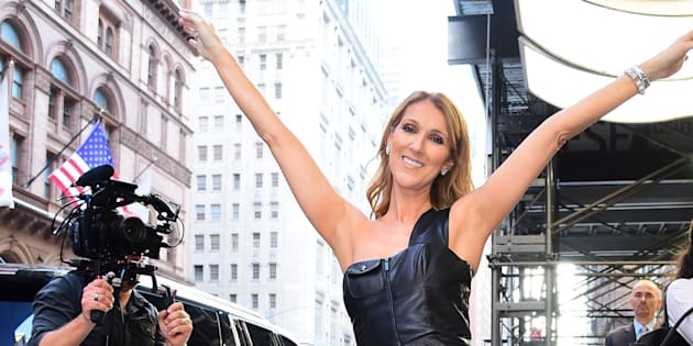 Céline Dion wants to help you up your style game in 2017