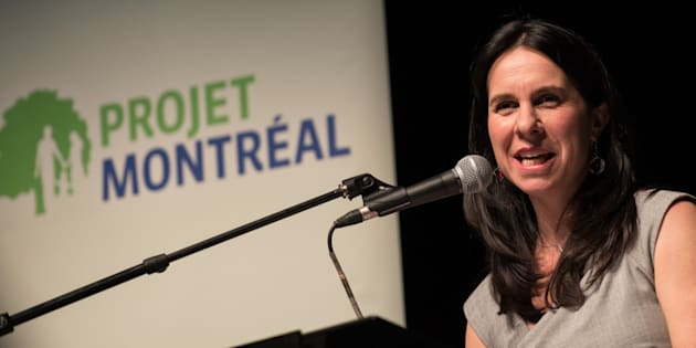 Photo d'archives de Valérie Plante.