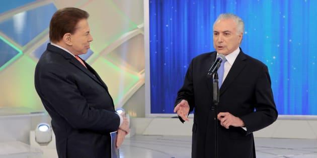 Silvio Santos sabatina Michel Temer sobre a reforma da Previdência.