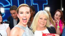 Scarlett Johansson a invité son sosie de 72 ans à l'avant-première de