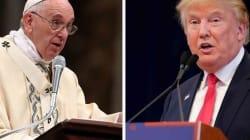 Para el papa Francisco, la retórica de Trump es una forma de