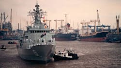 Australian Navy Ship Returns Home After 9 Months In Middle