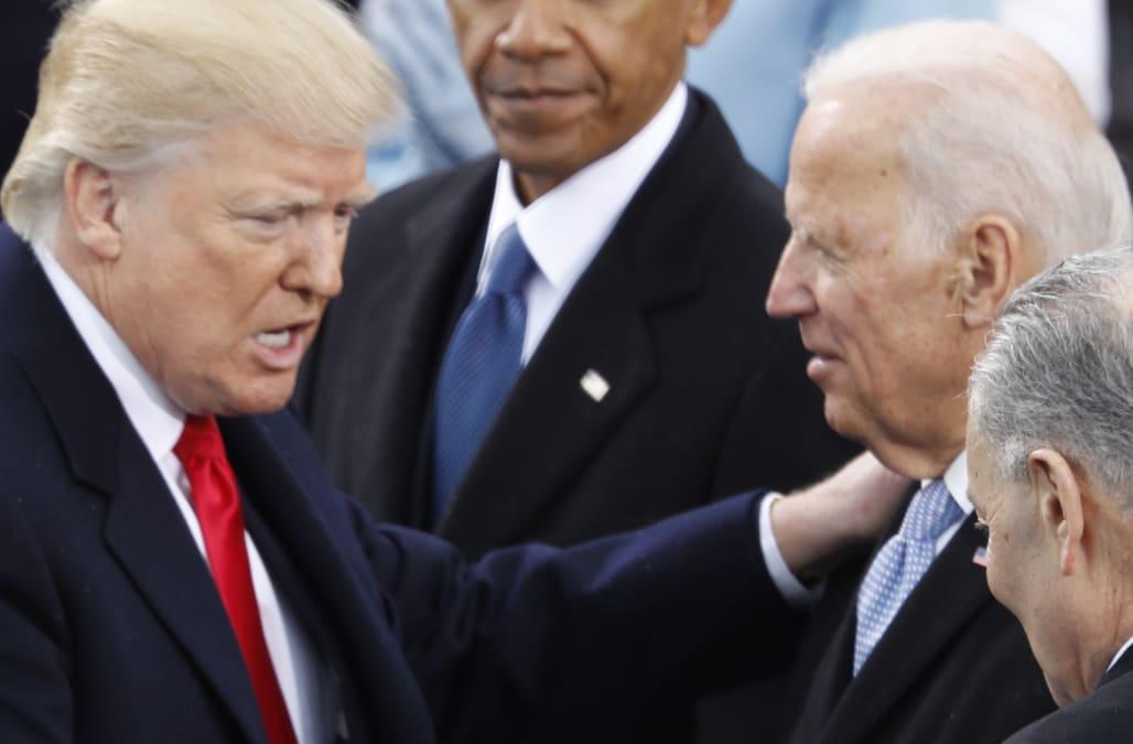 Trump: Joe Biden would be my 'dream' opponent in 2020 - AOL News