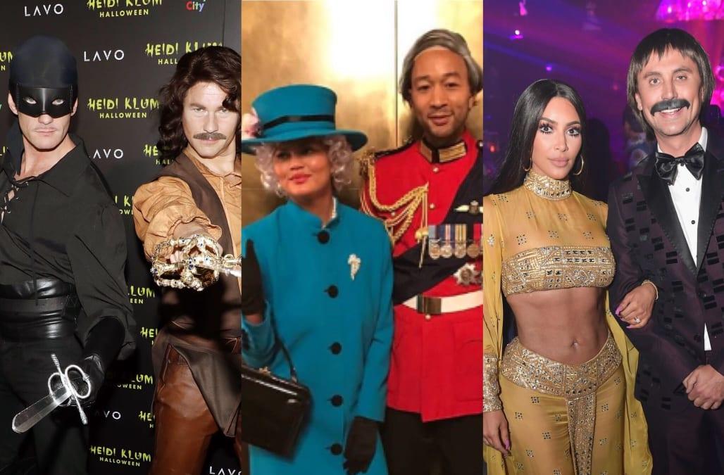 Celebrity Halloween 2019 Couples Costume Ideas Joe And