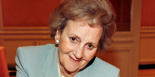 Katharine Graham, en 1997 (Photo by Vince Bucci/Getty Images)