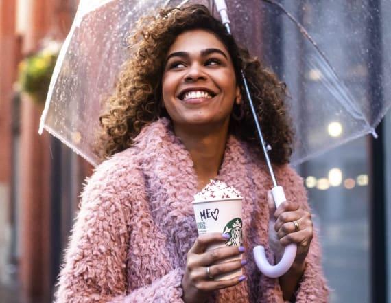 Starbucks welcomes back Valentine's Day drinks