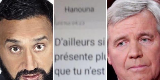 Serge BENHAMOU  Gamma-Rapho via Getty Images  C8                       Bruno Masure dévoile les SMS d'insultes de Cyril Hanouna