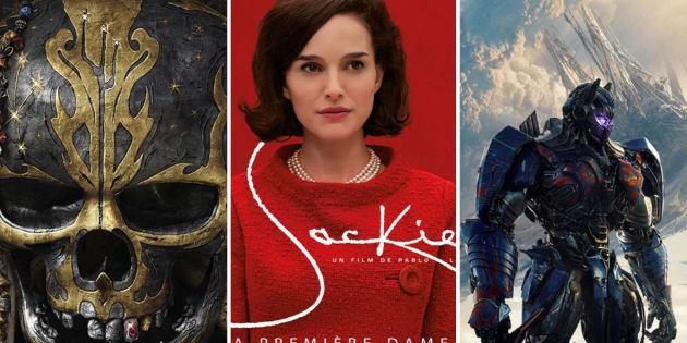Les films à l'affiche en 2017.