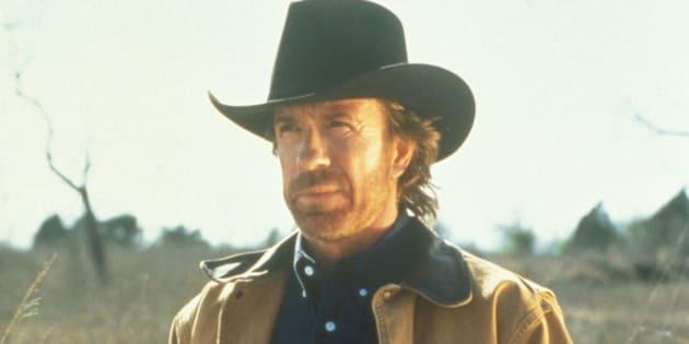 Chuck Norris como protagonista de 'Walker Texas Ranger'.