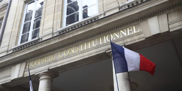 A photo taken on March 18, 2017 shows the outside of the French Constitutional Council headquarters in Paris.