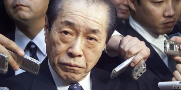 野中広務氏(2000年12月撮影)