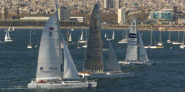Imagen de archivo de la Barcelona World Race.