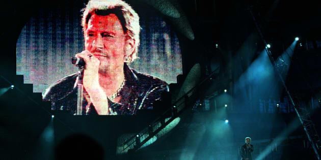 Johnny chantait de tout son corps, de tout son être, nous donnait tout de lui