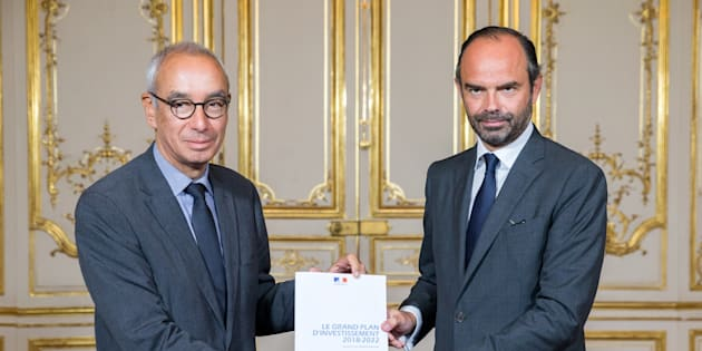 Edouard Philippe a dévoilé un vaste plan d'investissement de 57 milliards d'euros