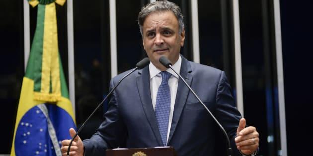 Supremo Tribunal Federal nega pela terceira vez pedido de prisão do senador Aécio Neves (PSDB-MG).
