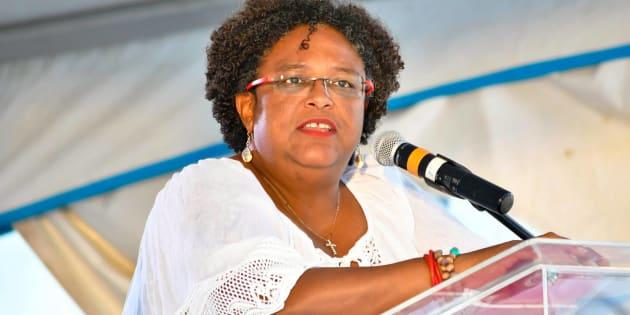 Mia Amor Mottley ha ocupado puestos en el gobierno de Barbados durante casi 30 años.